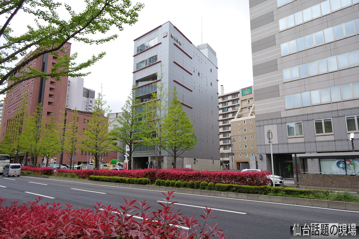(仮称)御宿 野乃仙台 新築工事の進捗状況・2019年5月